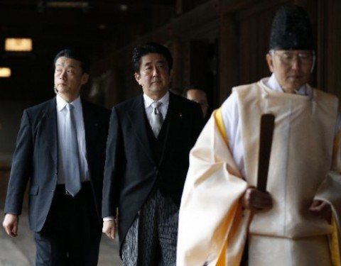 US disappointed over Shinzo Abe's visit to war shrine