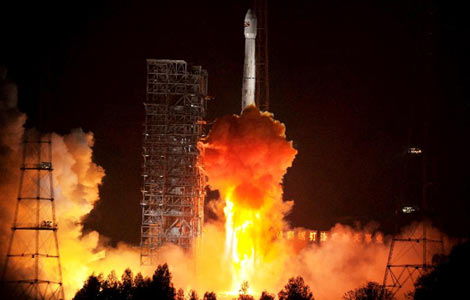 China launches communication satellite for Bolivia