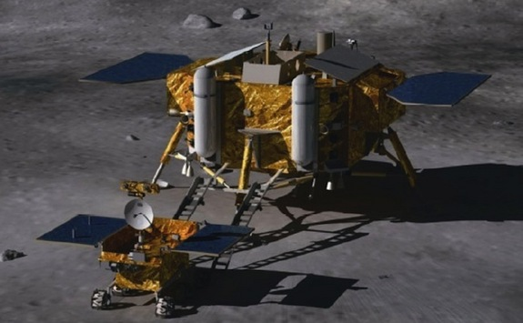 China set to land robot rover on moon
