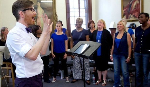 Choir singing can boost mental health