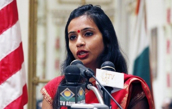 Appplication for transfer of D. Khobragade to UN still under review : US