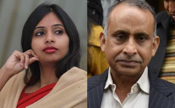 My daughter is being made a scapegoat: Devyani's father