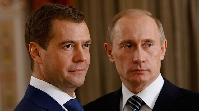 Medvedev denies tension with Putin