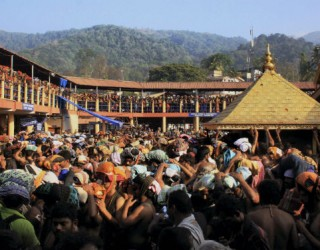 Earnings rise in Sabarimala temple