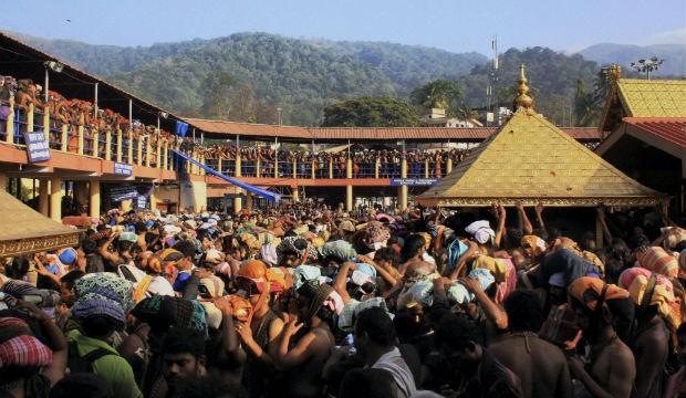 Earnings rise in Sabarimala temple
