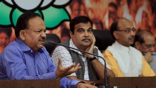 BJP ready fight polls again amid Congress olive branch to AAP