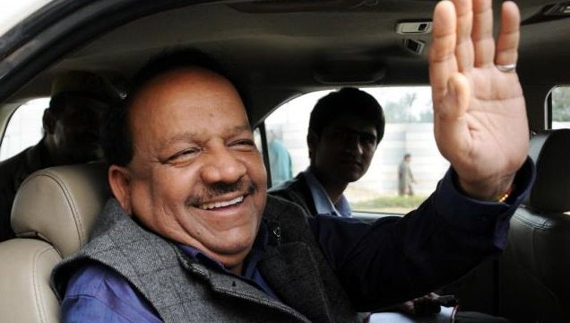 AAP has betrayed people by deciding to form govt with Congress: Harsh Vardhan