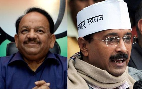 Delhi election results: BJP ahead in 21 seats , AAP inches to second