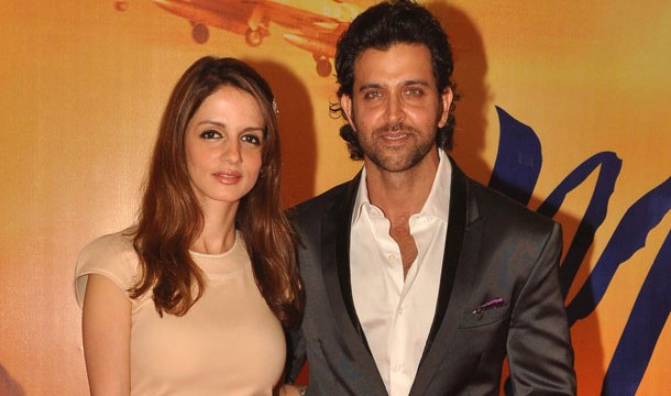 Hrithik Roshan, wife Sussanne Separate.