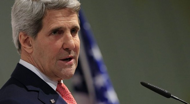 Kerry visits Israel amid reports of faltering Israeli-Palestinian talks
