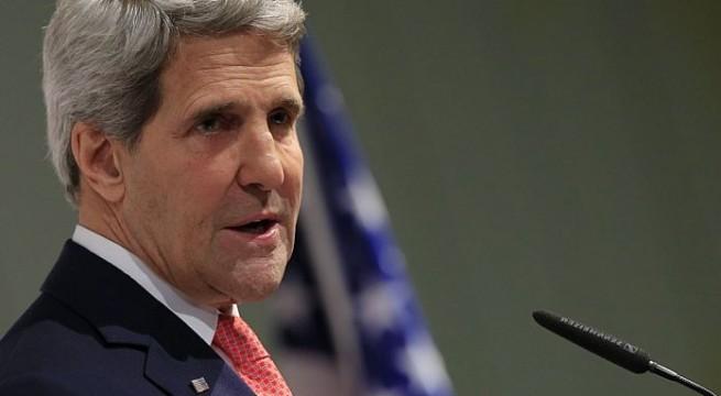 Kerry shows optimism on Israel-Palestinian peace talks