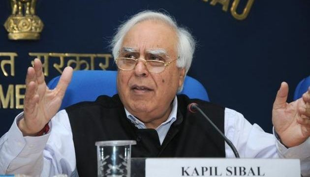 Sibal accuses BJP of double speak in snooping row