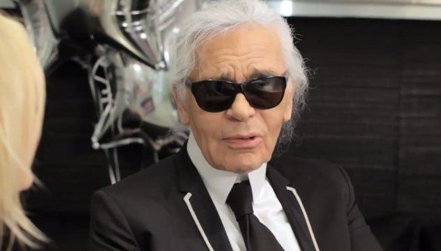 No time for social media: Karl Lagerfeld