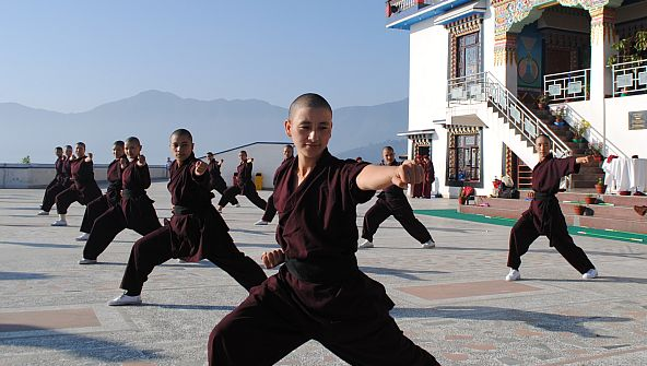 Kathmandu's sweet but deadly kung fu nuns