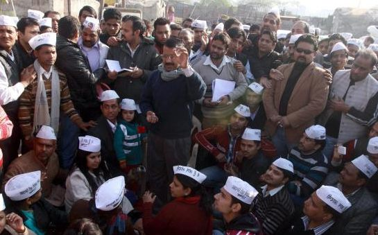 Kejriwal holds Janta Durbar