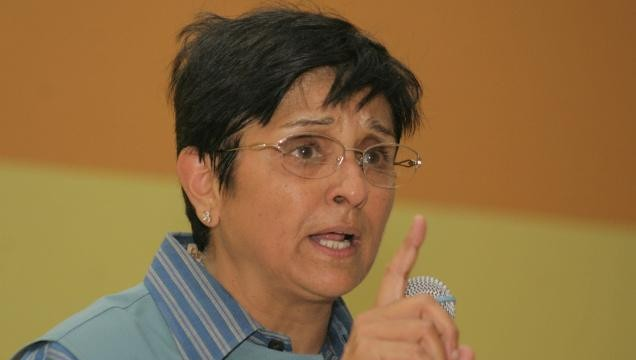 Kiran Bedi's vote is for Narendra Modi, not Arvind Kejriwal