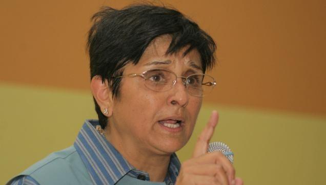 Kiran Bedi's vote is for Narendra Modi, not Arvind Kejriwal