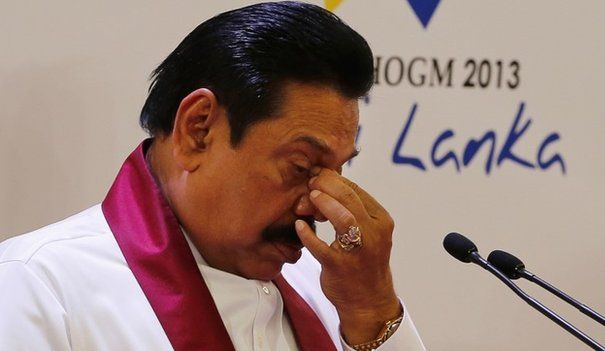 Rajapaksa calls for home-grown solution for Tamils issue