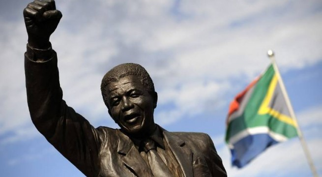 Mandela's statue to be erected at Presidency