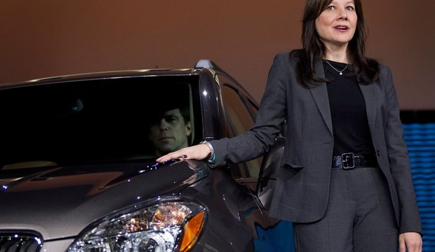 GM names Mary Barra its CEO