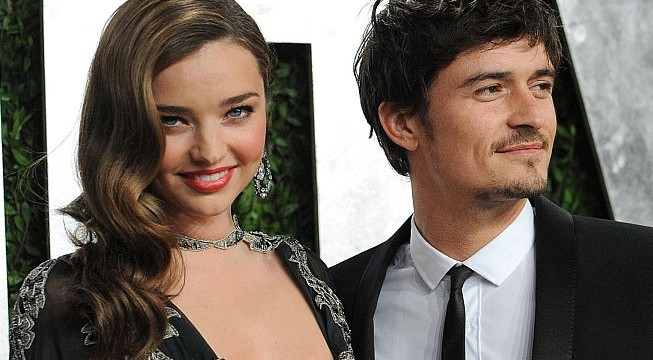 Miranda Kerr and Orlando Bloom celebrate Christmas Eve together
