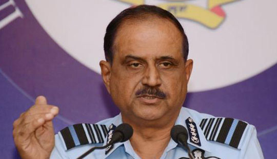 India notes defence developments in China: Air force chief