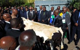 Nelson Mandela's funeral under way