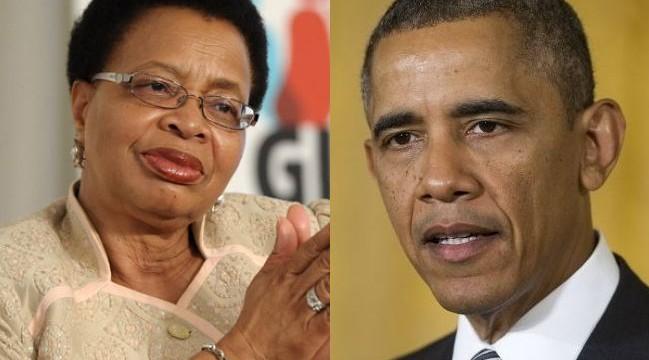 Barack Obama rings up Mandela's widow