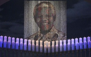 Mandela `long walk` to freedom recreated in shrine