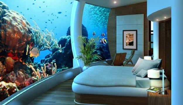 New underwater hotel lets guests sleep with Nemo