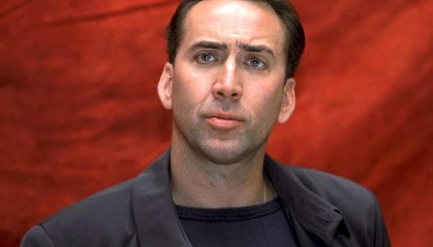 Nicolas Cage doesn't take criticism seriously