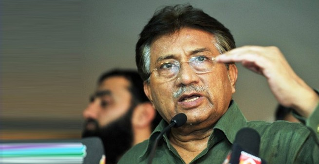 Pak govt. to press five charges against Musharraf in high treason case