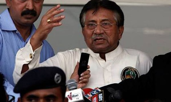 Pak high court dismisses Musharaf's petition challenging special court for high treason
