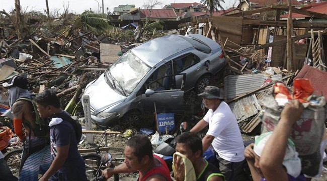 Philippines typhoon toll crosses 6,000