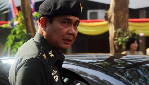 Thai army chief says coup could happen
