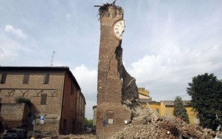 Quake hits Italy