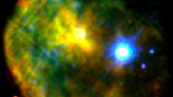 Rare magnetar found near supernova remnant