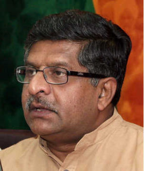 Bring PM under Lokpal, says Ravi Shankar Prasad