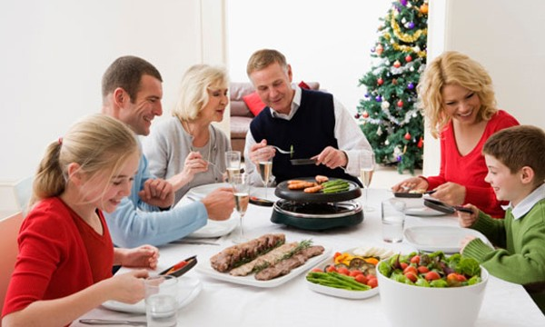 Regular exercise allows `healthy overeating` during Christmas holidays