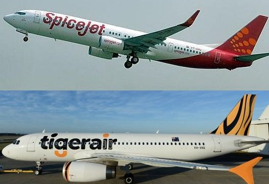 SpiceJet, Tigerair sign agreement