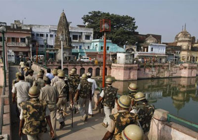 Security tightened across UP on Babri demolition anniversary