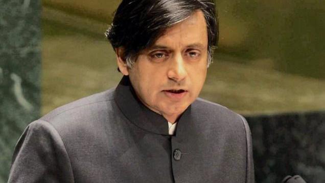 Shashi Tharoor awarded for working towards animal protection