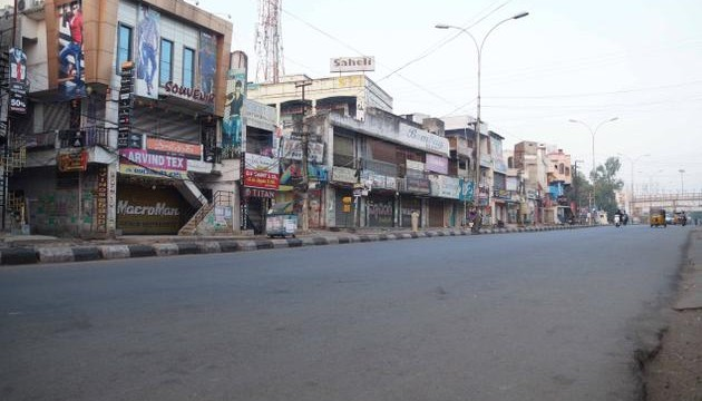 Shutdown brings Telangana to a halt, paralyses transport