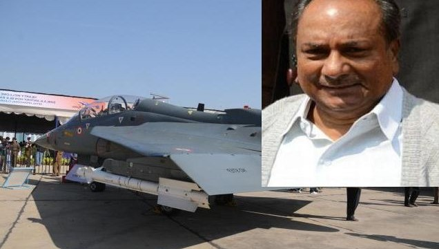 IAF to induct six squadrons of Tejas: Antony