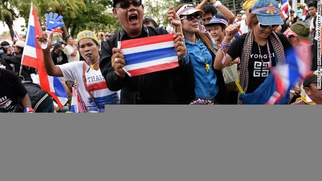 Thai protesters mark Monday for final push against government