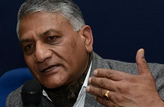 Jammu and Kashmir upper house summons V.K. Singh