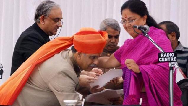Vasundhara Raje retains 46 portfolios