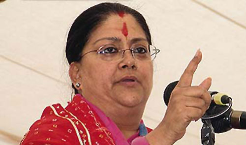 Modi a big factor in Rajasthan win: Vasundhara Raje