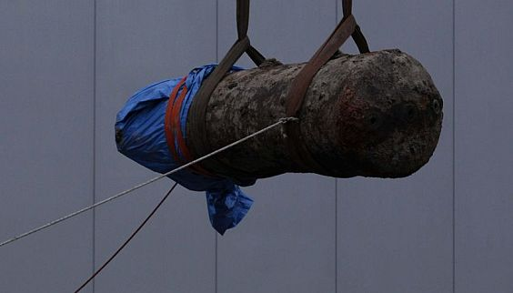 World War II bomb defused in German city