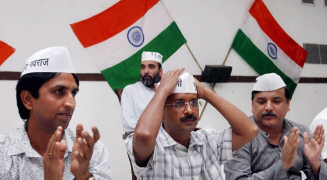 All eyes on AAP as Delhi to vote tomorrow in triangular fight